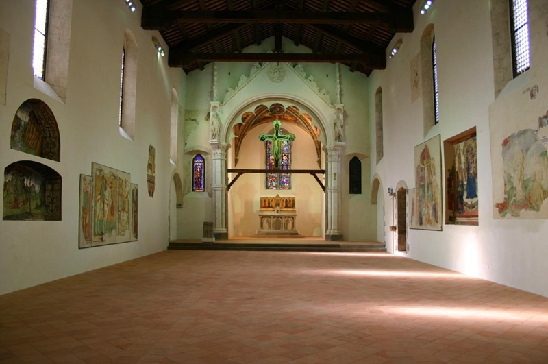 Chiostro di San Francesco, Mercatello sul Metauro